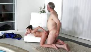Seductive european babe getting preferable buggered by gaffer