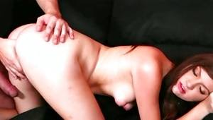 Astounding young slut is getting her pounded wildly